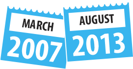 March 2007 – August 2013