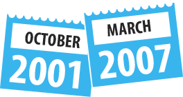 October 2001 – March 2007